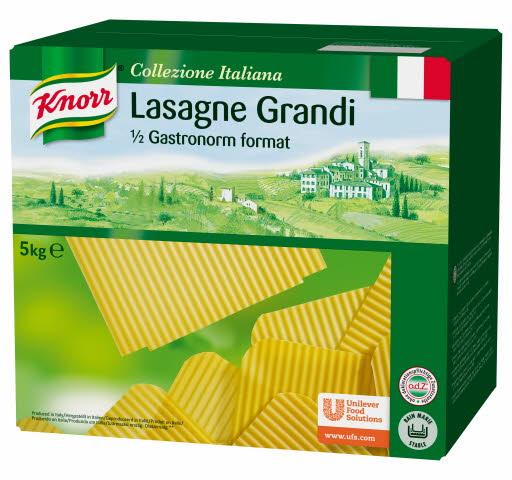 KNORR Pasta Lasagne Grande 5kg