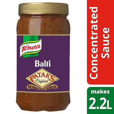 KNORR Patak's Balti Concentrated Sauce 1.1L -