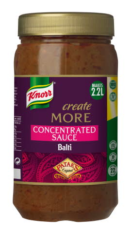 KNORR Patak's Balti Create More Concentrated Sauce 1.1L