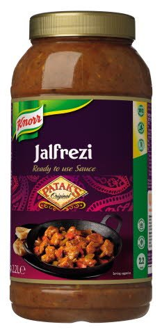 Knorr Patak's Jalfrezi Sauce 2.2L
