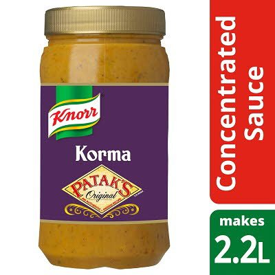 Knorr Patak's Korma Concentrated Sauce 1.1L -