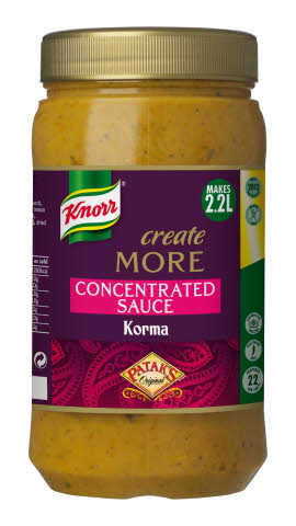 Knorr Patak's Korma Create More Concentrated Sauce 1.1L