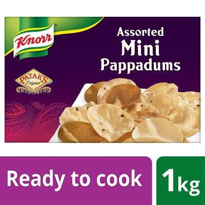 Knorr Patak's Mini Pappadums 1kg