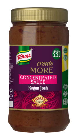 KNORR Patak's Rogan Josh Create More Concentrated Sauce 1.1L