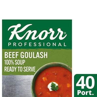 Knorr Professional 100% Soup Beef Goulash 4x2.5kg -