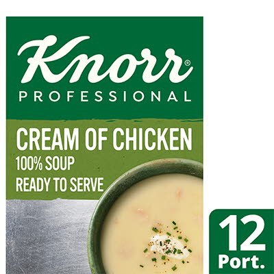 Knorr Professional 100% Soup Cream of Chicken 12 Port -