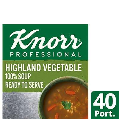 Knorr Professional 100% Soup Highland Veg 4x2.4L -