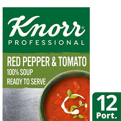 Knorr Professional 100% Soup Red Pepper & Tomato 12 Port -