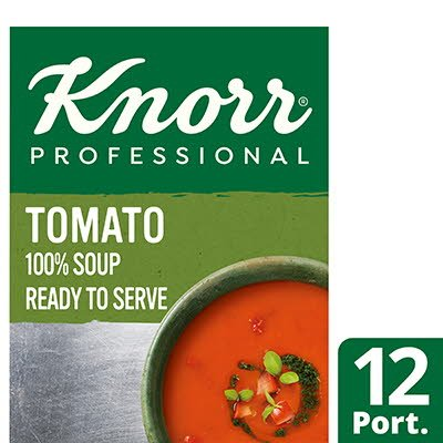 Knorr Professional 100% Soup Tomato 12 x 250 ml -