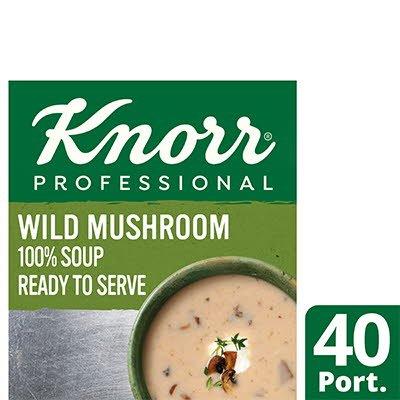 Knorr Professional 100% Soup Wild Mushroom 4x2.5kg -