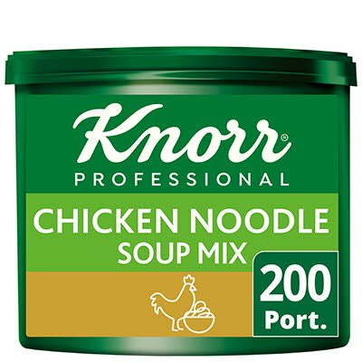 Knorr Professional Chicken Noodle Soup 200 Port -