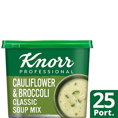 Knorr Professional Classic Cauliflower & Broccoli Soup 25 Port -