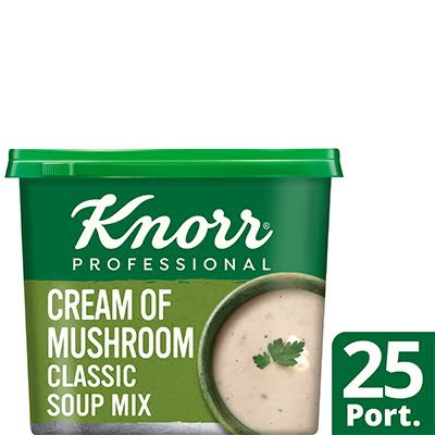 Knorr Professional Classic Cream of Mushroom Soup 25 Port -