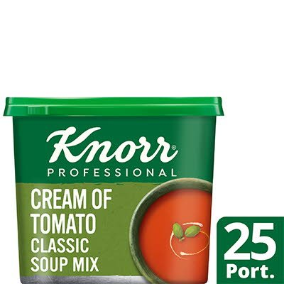 Knorr Professional Classic Cream of Tomato Soup 25 Port -