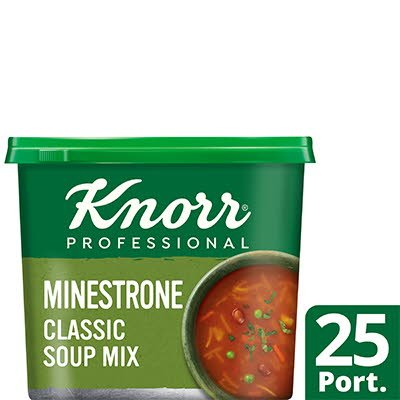 Knorr Professional Classic Minestrone Soup 25 Port -
