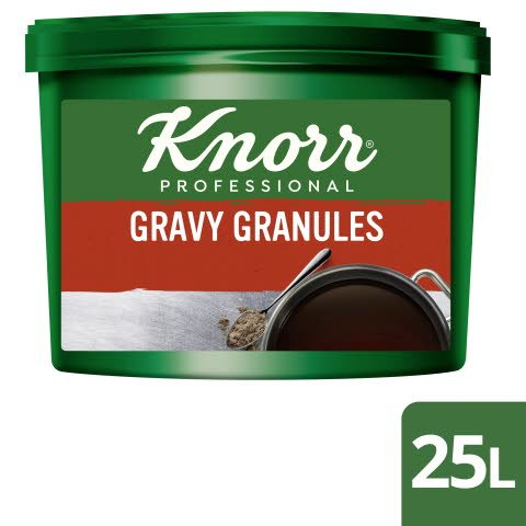 Knorr® Professional Gluten Free Gravy Granules for Meat Dishes 25L
