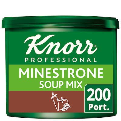 Knorr Professional Minestrone Soup 200 Port. -