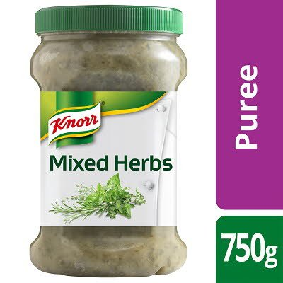 KNORR Professional Mixed Herbs Puree 750g