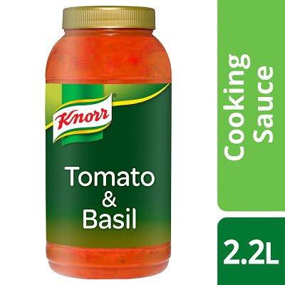 Knorr Tomato & Basil Sauce 2.2L