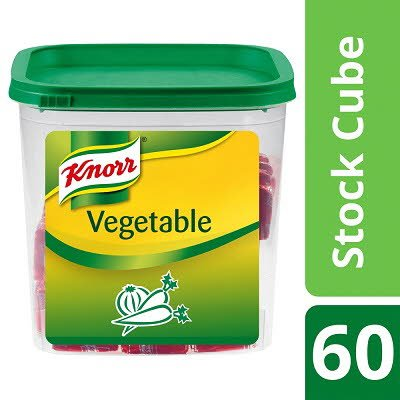 Knorr Vegetable Bouillon Cubes 60 x 450ml -