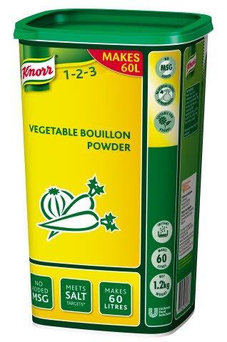 Knorr Vegetable Powder Bouillon Vegetable 1.2kg