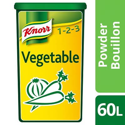 Knorr Vegetable Powder Bouillon Vegetable 1.2kg -