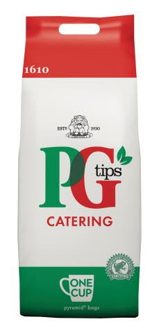 PG tips 1610 One Cup Catering Tea Bags -