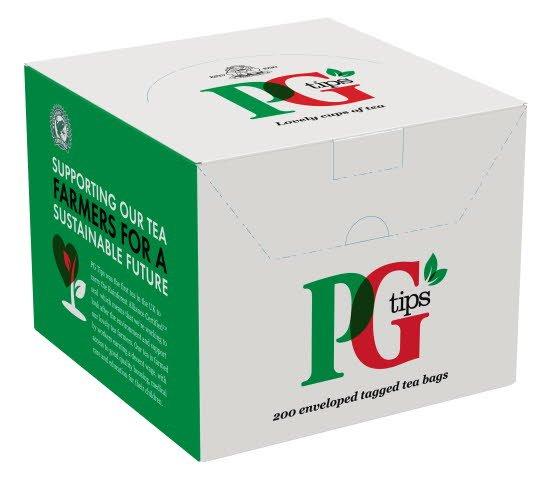 PG tips 200 Enveloped Tea Bags