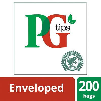PG tips 200 Enveloped Tea Bags -