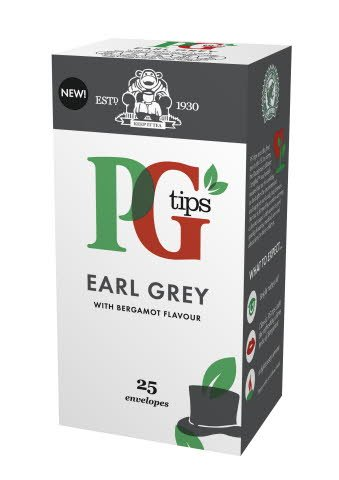 PG tips Earl Grey Tea 25 Enveloped Bags