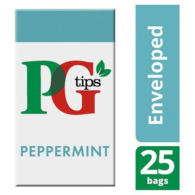 PG tips Peppermint Tea 25 Enveloped Bags -