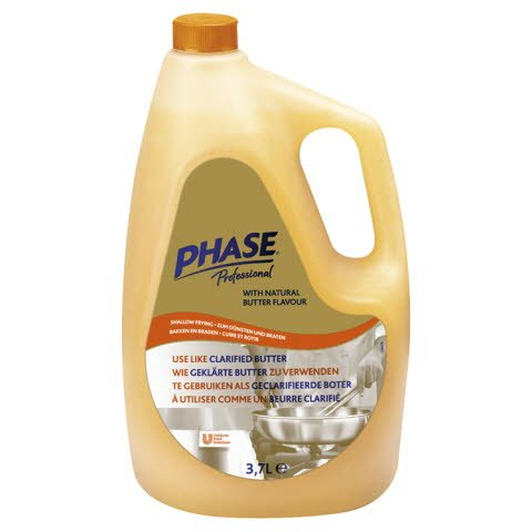 Phase Professional with natural butter flavour 3.7L -
