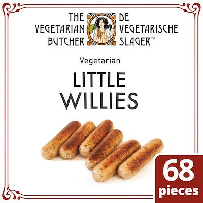The Vegetarian Butcher Little Willies 1.9kg -