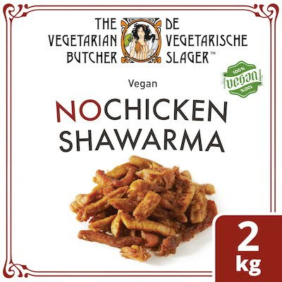 The Vegetarian Butcher NoChicken Shawarma 2kg -