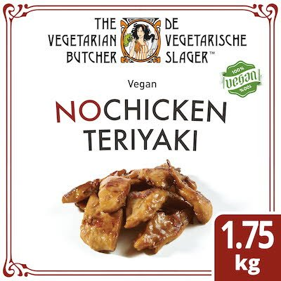 The Vegetarian Butcher NoChicken Teriyaki 1.75kg -