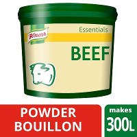 KNORR Essentials Beef Bouillon Powder 1x 3 KG