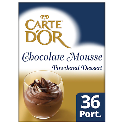 Carte D'Or Chocolate Mousse 720g - Carte D'Or Chocolate Mousse 720g