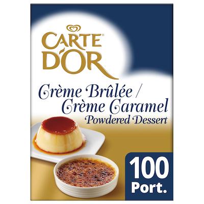 Carte D'Or Crème Brûlée / Crème Caramel 1250g
