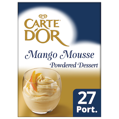 Carte D'Or Mango Mousse 570g - Carte D'Or Mango Mousse 570g