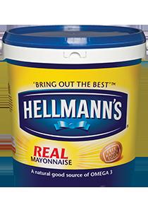 HELLMANN'S Real Mayonnaise 10L - HELLMANN'S Real Mayonnaise 10L