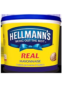 HELLMANN'S Real Mayonnaise 5L - HELLMANN'S Real Mayonnaise 5L