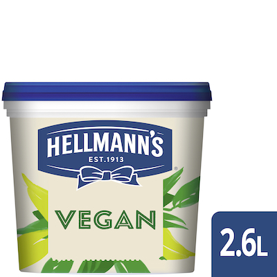 Hellmann's Vegan Mayo 2.6L - Hellmann's Vegan Mayo 2.6L