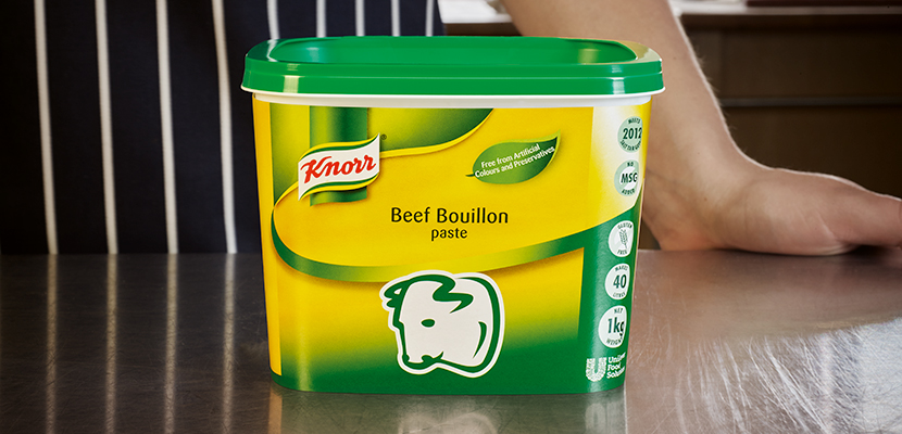 KNORR Beef Paste Bouillon 2kg - Voted Chefs' Choice for three years running