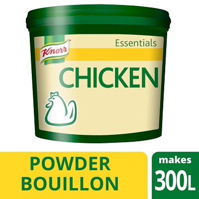KNORR Essentials Chicken Bouillon Powder 1x 3 KG - Make it easy with Knorr Essentials Chicken Bouillon Powder