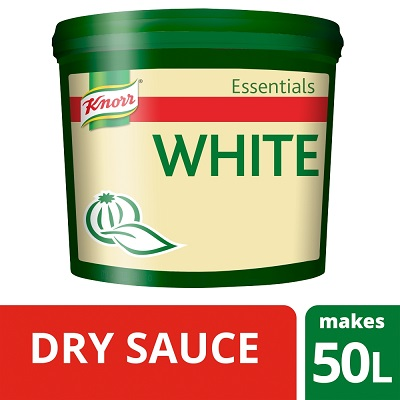 KNORR Essentials White Sauce Mix - Make it easy with Knorr Essentials Dehydrated White Sauce Mix