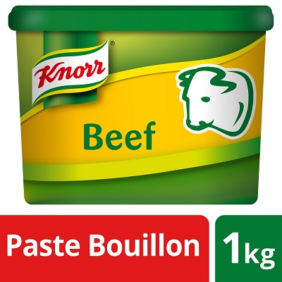 KNORR Gluten Free Beef Paste Bouillon 1kg - Voted the best stock three years running*