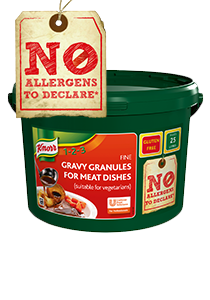 KNORR Gravy Granules make a great gravy that is gluten-free