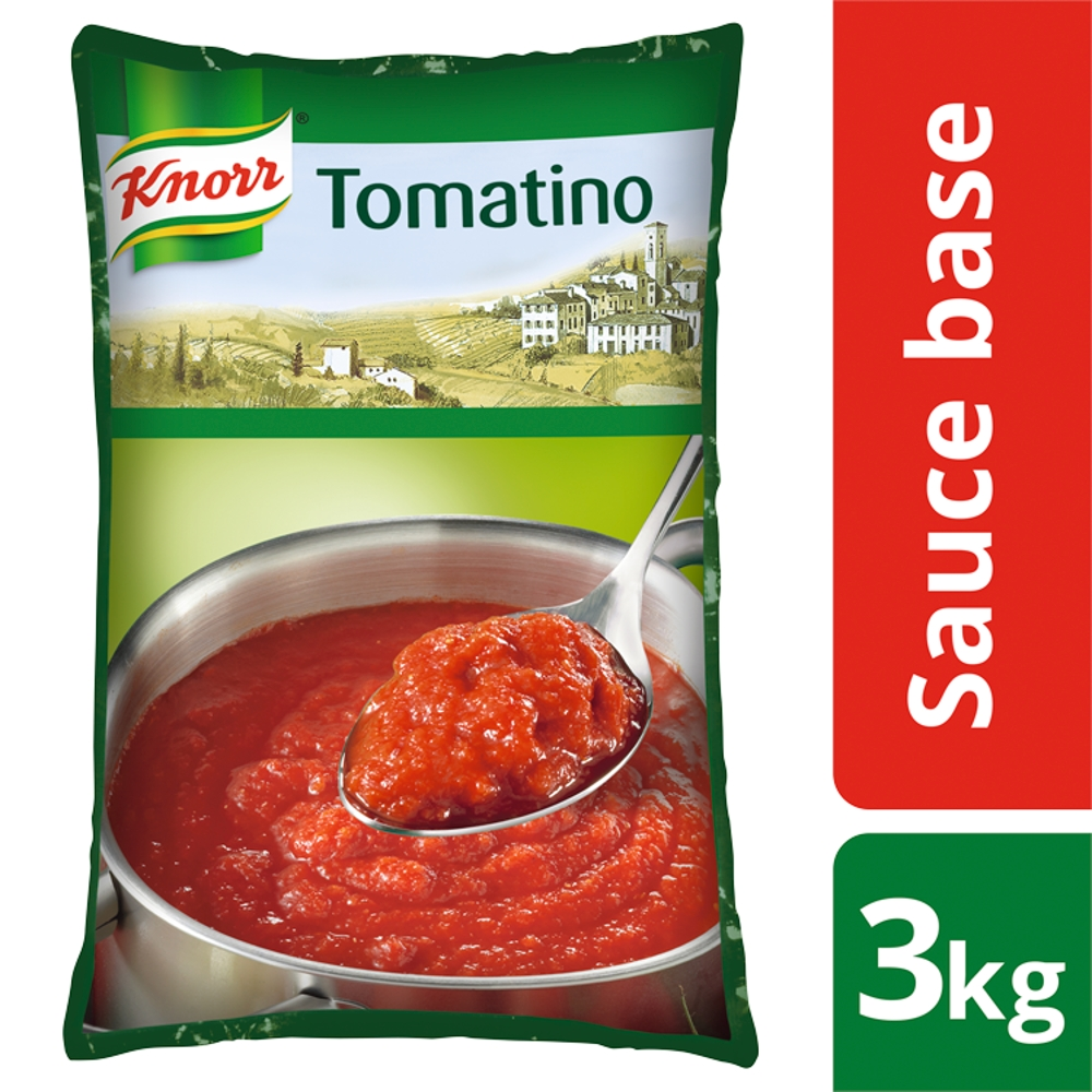 KNORR Tomatino Tomato Sauce Base 3kg - Not all tomatoes are the same