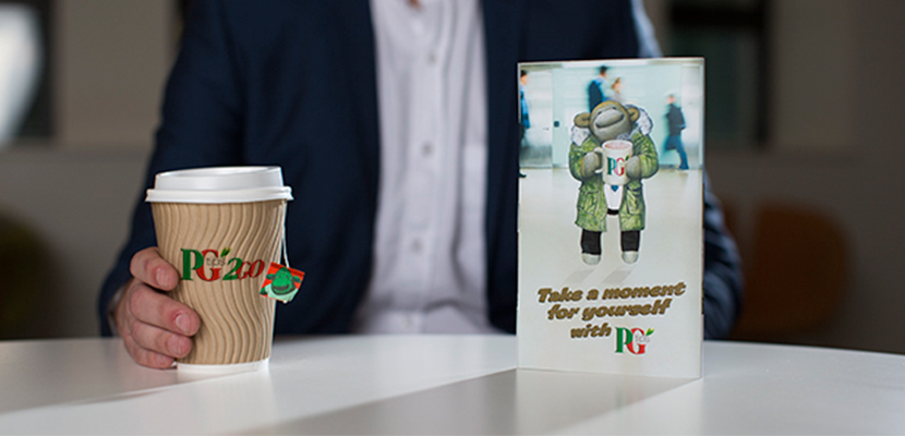 PG tips 1150 One Cup Catering Tea Bags - The nation's favourite tea**