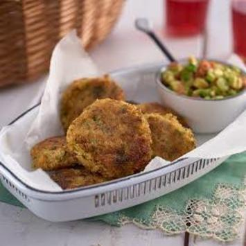 Dorset crab and cod cakes with spiced avocado